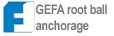 z GEFA Root Anchor System-Ancoraggio della zolla